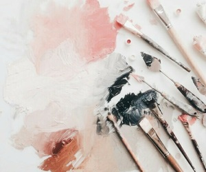 art, paint, and painting image
