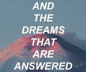 dreams, quotes, and stars image