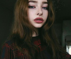 girl, pale, and adorable image