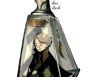 harry potter, book, and draco malfoy image