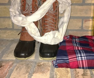 chic, clothes, and flannel image