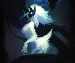 fan art, wolf, and kindred image