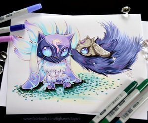 fan art, kindred, and lamb image