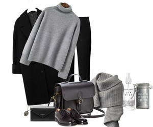 clothes, gray, and Polyvore image