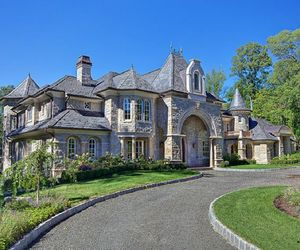 mansion, home, and luxury image