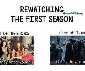 game of thrones, funny, and true image