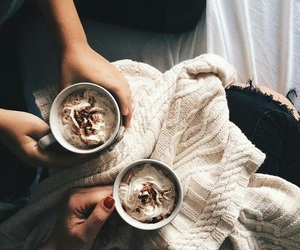 coffee, morning, and cozy image