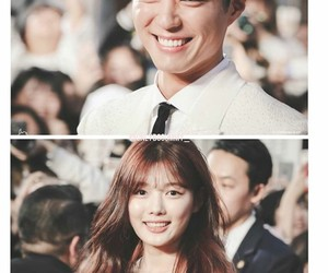 beautiful, couple, and handsome image