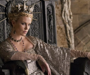 Charlize Theron and evil queen image