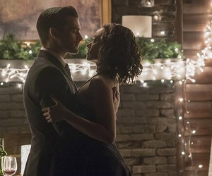 tvd, enzo, and Bonnie image