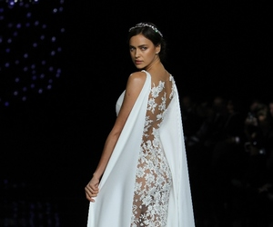 dress, irina shayk, and model image