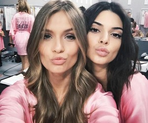 kendall jenner, model, and josephine skriver image
