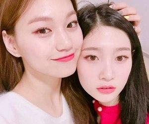 doyeon, ioi, and chaeyeon image