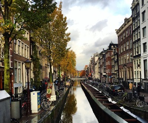 amsterdam, channel, and holiday image