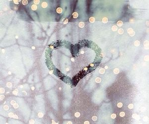 heart, wallpaper, and winter image