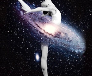 galaxy, ballet, and dance image