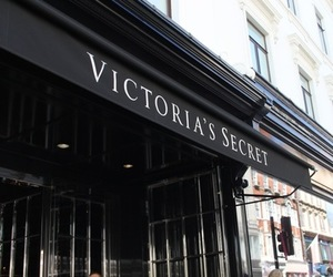 Victoria's Secret, store, and black image