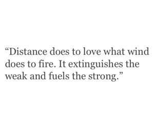 distance, long distance, and quote image