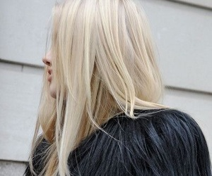 hairstyle, baby blonde, and hair color image