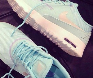 baby blue, sport, and nike image