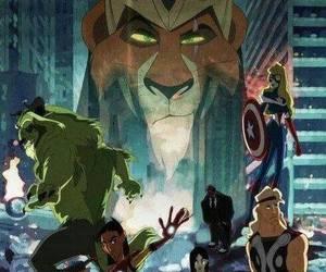 disney, Avengers, and Marvel image
