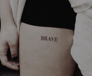 brave, tattoo, and ginny weasley image