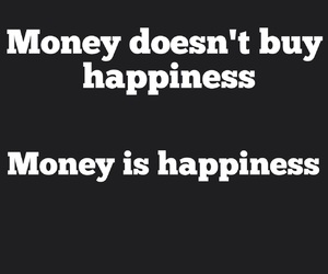 believe, buy, and happiness image