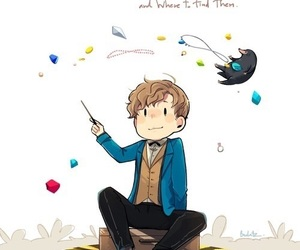 fantastic beasts, art, and draw image