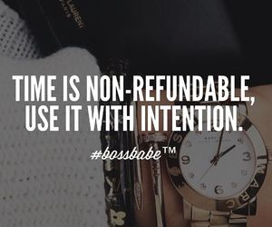 quote, girl, and time image