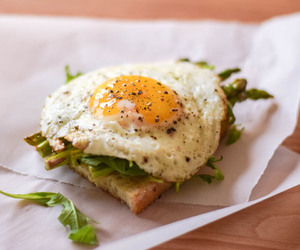 egg, bread, and food image