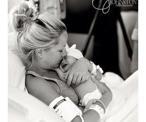 adorable, girl, and newborn image