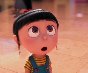 single, despicable me, and agnes image