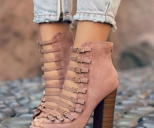 talons, ny pink, and heels cute love ly image
