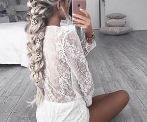 cool, fashion, and hair style image