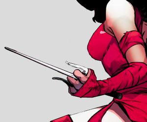 aesthetic, elektra natchios, and elektra image