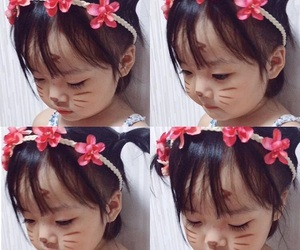 baby, korean, and kwon yuli image