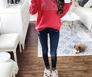 fashion, christmas, and outfit image