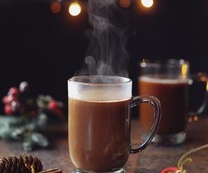 gif, christmas, and coffee image