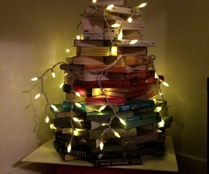 booklover, roomates, and chistmas image