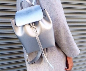 fashion, silver, and bag image