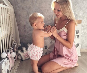 blondes, love, and family image