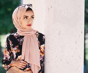 beauty, hijab, and goals image