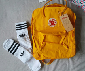 adidas, aesthetic, and backpack image