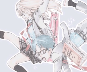 wallpaper and your lie in april image