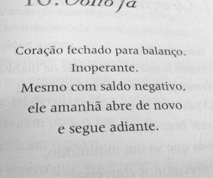 pensamento, português, and frase image