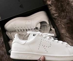 adidas, raf simons, and white image