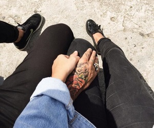 tumblr and couple image