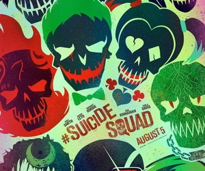wallpaper and suicide squad image