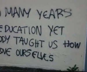 quotes, education, and tumblr image