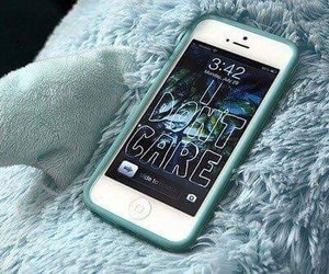 iphone, tumblr, and blue image